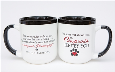 Pawprints Left by You Mug