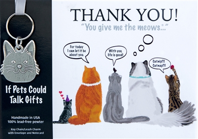 Thank you gift for cat lover