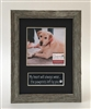 Pawprints Pet Memorial Photo Frame