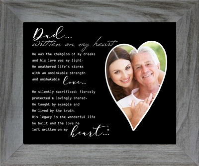 Memorial Gift: Loss of Dad