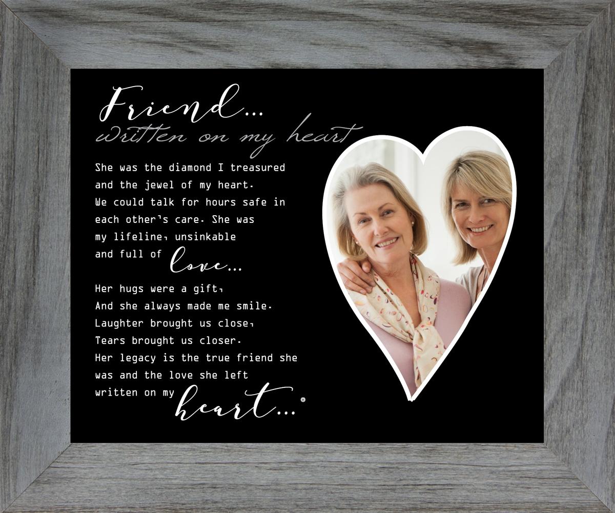 Memorial Gift Loss Of Friend