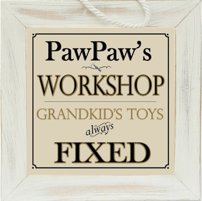 Personalized Grandpa Frame for Workshop