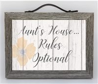 Aunt's House Rules: Farmhouse Style