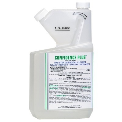 MSA Confidence Plus Germicidal Cleaner, 32 oz Bottle