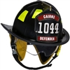 Cairns&#174 1044 Traditional Fire Helmet - Defender Visor
