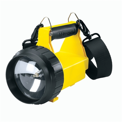 Streamlight - Vulcan Standard System - 120V AC, 12V DC, shoulder strap & charging rack. (8WS) - Yellow