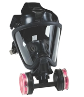 Ultra Elite Twin-Cartridge Full-Facepiece Respirator, Refurbished (Includes (2) P100 Cartridges), air purifying respirator, in stock