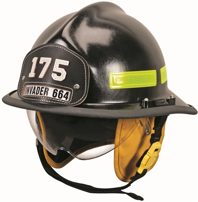Cairns&#174 Invader 664 Fire Helmet - Defender Visor