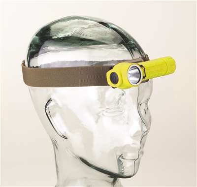 Streamlight - PolyTac Helmet Lighting Kit - PolyTac, lithium batteries, helmet mount, helmet band.  Clam packaged.  Yellow
