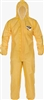 Lakeland - ChemMax 1 Sealed Seam Coverall; Hood, Elastic Wrist/Ankle, Case of 6
