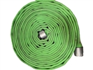 "Key Hose - Big 10 Fire Hose Green, 1.75"" x 50' used fire hose"