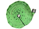 "Key Hose - Big 10 FDNY Fire Hose, Green, 1.75"" x 50' (Lightly Used)"