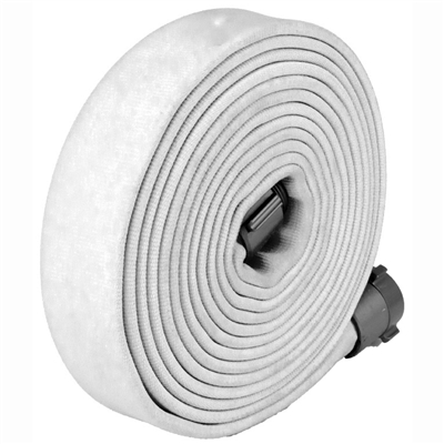 Key Hose - Big10 Fire Hose White 1.75""