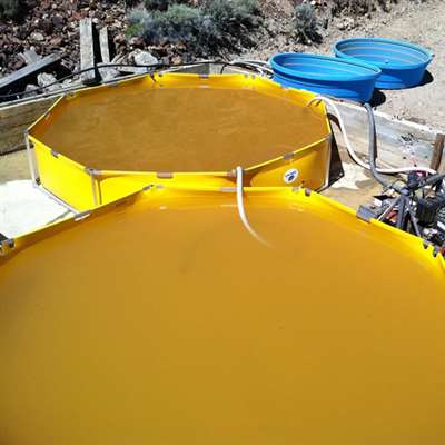 CrewBoss - 2,500 Gallon Snap Tank