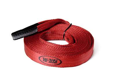 "Hi Lift Jack - 2""x30' Reflective Loop Recovery Strap"