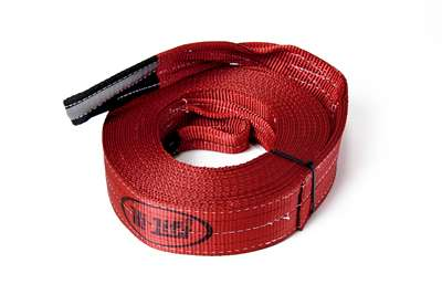 "Hi Lift Jack - 3""x30' Reflective Loop Recovery Strap"