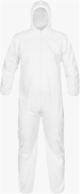 Lakeland - MicroMax Coverall; Hood, Elastic Wrist/Ankle, Case of 25