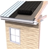 CedAir-Mat ventilation mat used in cedar roof construction