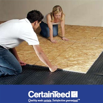 CertainTeed Platon Waterproofing Membrane Subfloor View Larger Photo  sc 1 st  Spycor Building Products & Platon Membrane - Spycor