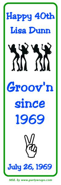 Birthday Groovy Girls Bookmarker
