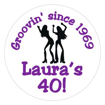 Birthday Groovy Girls Label