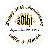 Anniversary 50th Lollipop