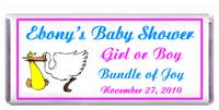 Baby Shower Stork Candy Bar