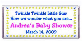 Baby Shower Twinkle Candy Bar