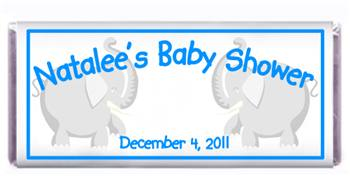 Baby Shower Elephant Candy Bar