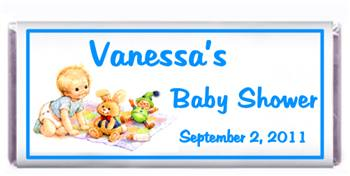 Baby Shower Baby Crawl Candy Bar
