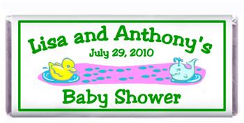 Baby Shower Ducky & Whale  Candy Bar