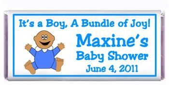 Baby Shower Baby Candy Bar