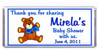 Baby Shower Teddy Candy Bar