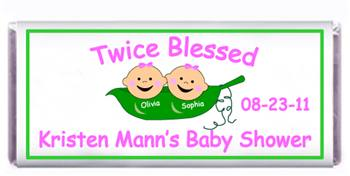 Baby Shower Peas in a Pod Candy Bar