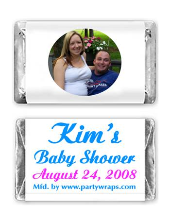 Baby Shower Miniature Candy Bars Photo