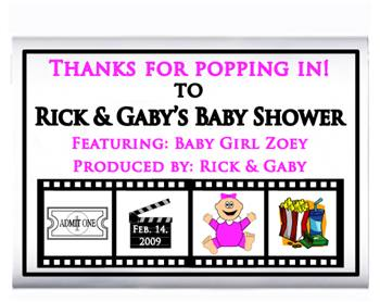 Baby Shower Movie Film Popcorn