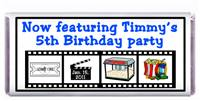 Childrens Birthday Movie Candy Bar