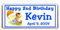 Childrens Birthday Boy Kite Candy Bar