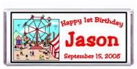 Childrens Birthday Ferris Wheel Candy Bar