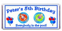 Childrens Birthday Summer Float Candy Bar
