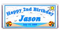 Childrens Birthday Beach Candy Bar