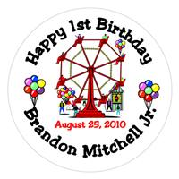 Childrens Birthday Ferris Wheel Lollipop