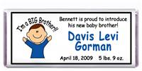 Birth Announcement Cartoon Baby Candy Bar