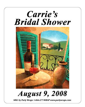 Bridal Shower Tuscany