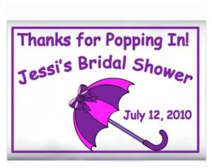 Bridal Shower Umbrella Popcorn
