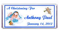 Christening Blanket Baby Candy Bar