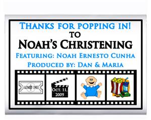 Christening Movie Film Popcorn