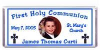 Communion Photo Stained Cross Candy Bar