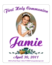 Communion Photo Label