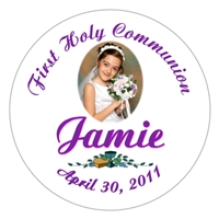 Communion Photo Script Lollipop